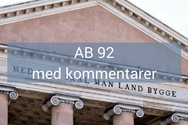 ed1e99cea AB 92 med kommentarer - PHL Advokatfirma